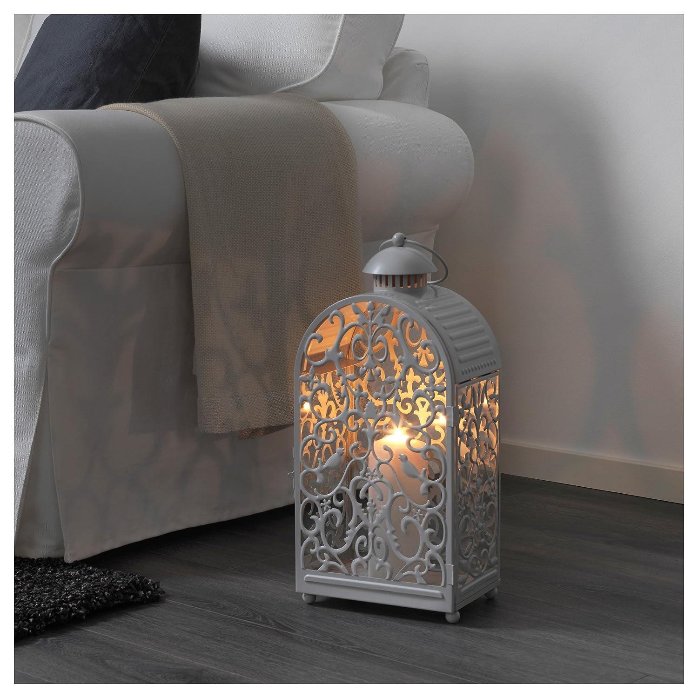 Ikea Gottgora Lanterna Lanterna Per Candela In Outdoor Grigio
