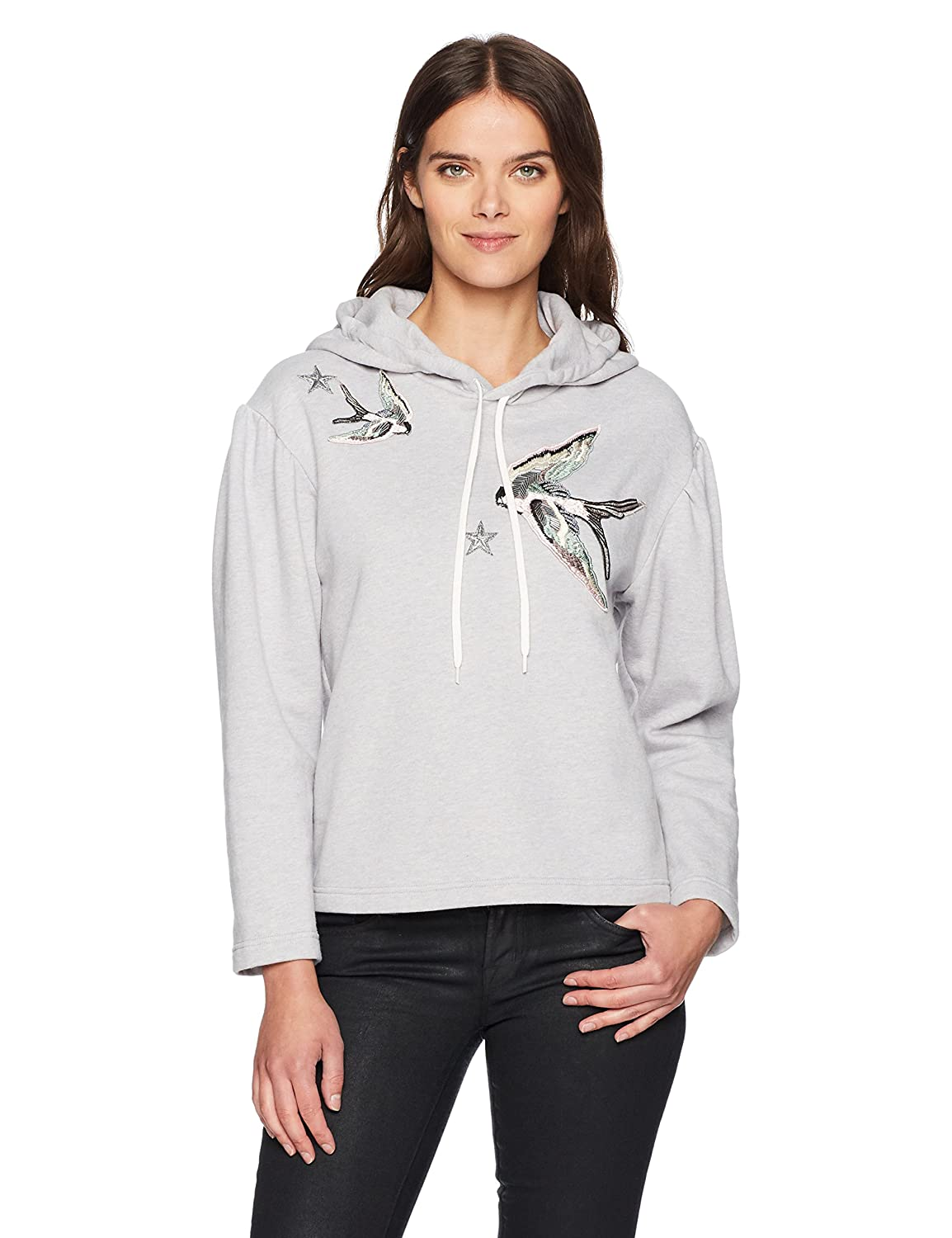 Rebecca Taylor Women's Embroidered Hoodie Pullover Rebecca Taylor Women' s 617 339 B382