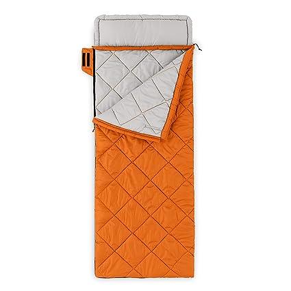 Core equipo 30 deg Classic rectangular saco de dormir, naranja