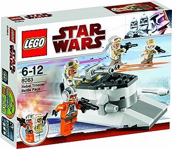 LEGO STAR WARS 8083 Rebel Trooper(TM) Battle Pack: Amazon ...