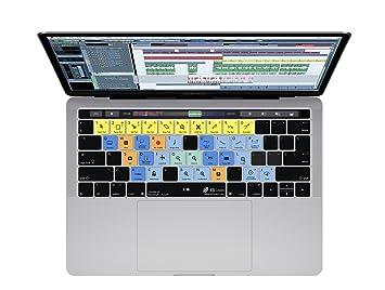 Cubase teclado cubierta para macbook pro (finales de 2016 +) W/Touch ...