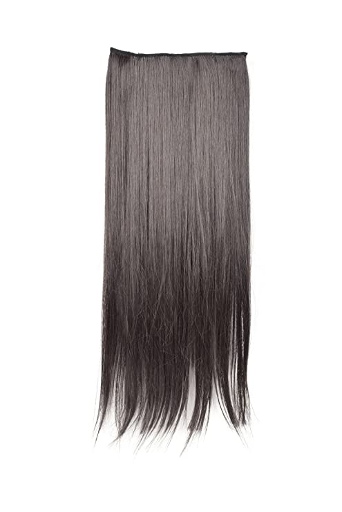 Snupy 5pin Straight Hair Extension Natural Black 25 Inches Free