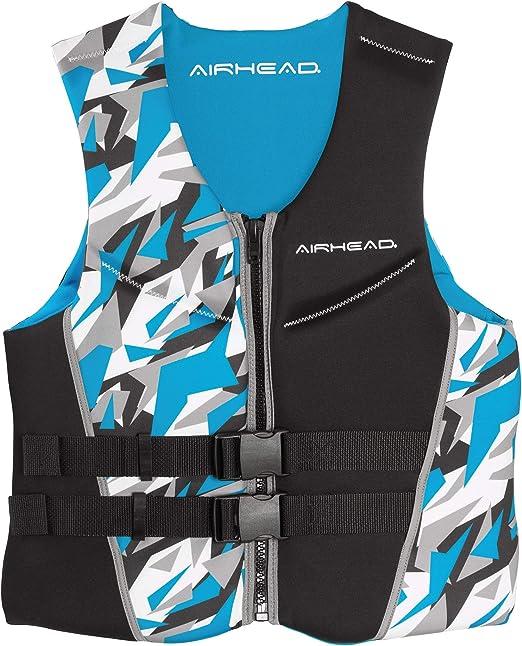 Blue X-Small Airhead Adult Swoosh Kwik-Dry Neolite Flex Life Vest