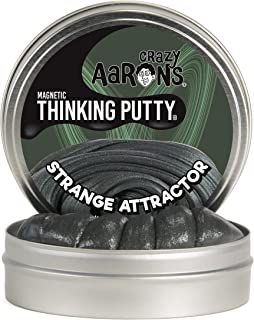 """product image for Crazy Aaron's Thinking Putty 4"""" Tin - Strange Attractor - Magnetic Putty with Memory Effect, Soft Texture - Never Dries Out"""