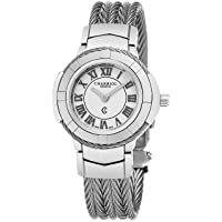Deals on Charriol Celtic White Dial Quartz Cable Ladies Watch