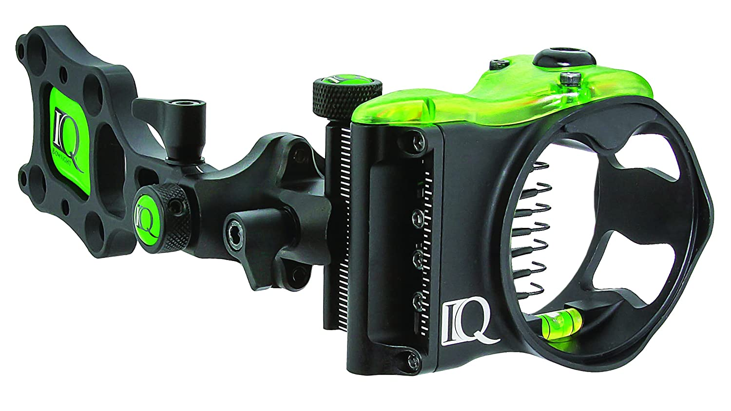 Left and Right Hand IQ Bowsights Micro 3 5 or 7 Pin Compound Bow Archery Sight with Retina Lock Technology
