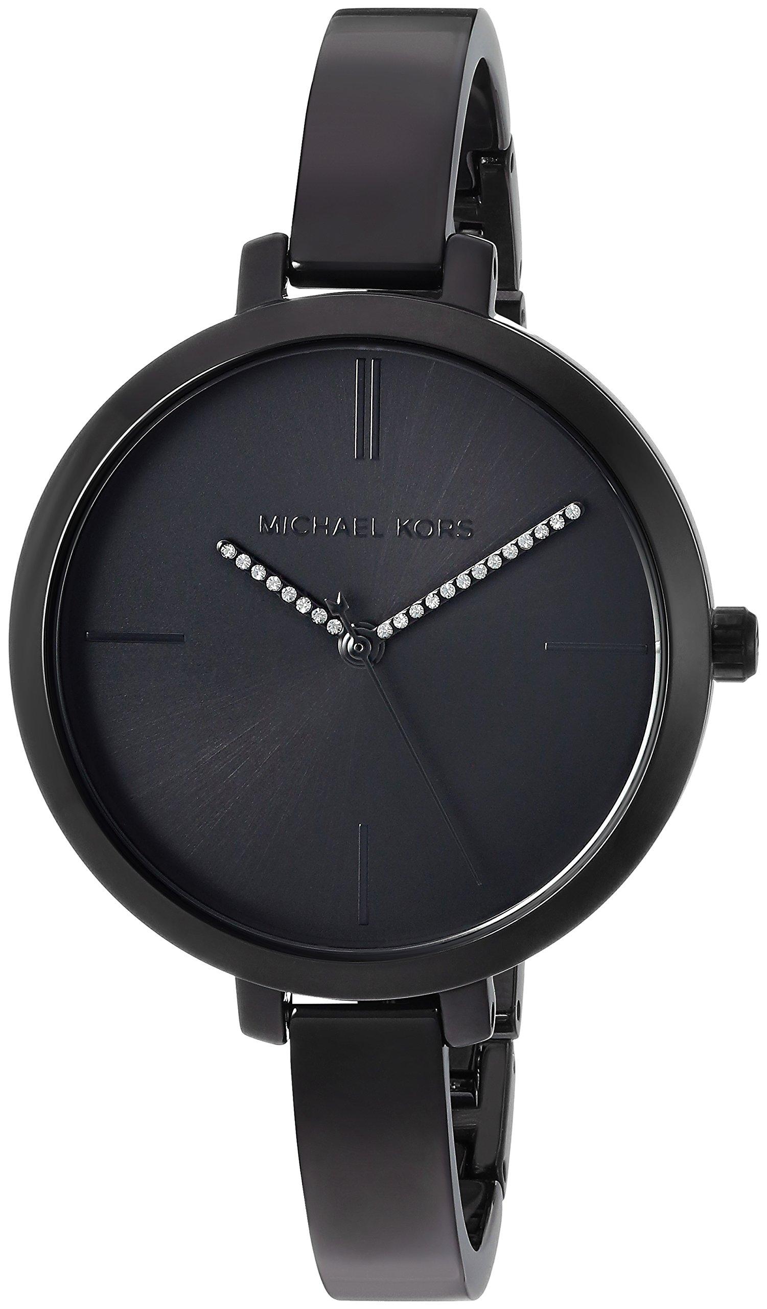 Michael Kors Women's 'Jaryn' Quartz Stainless Steel Casual Watch, Color:Black (Model: MK3786)