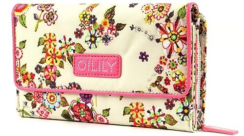 Oilily Mirabelle - Cartera (tamaño grande), diseño de flores, color claro: Amazon.es: Zapatos y complementos