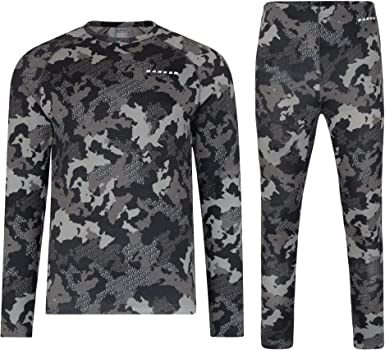 Dare 2b Kids Partition Fast Wicking and Quick Drying Thermal Base Layer Set