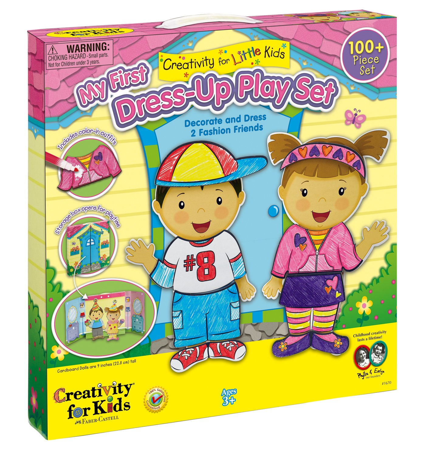 Amazon Creativity for Kids My First Dress Up Play Set Toys