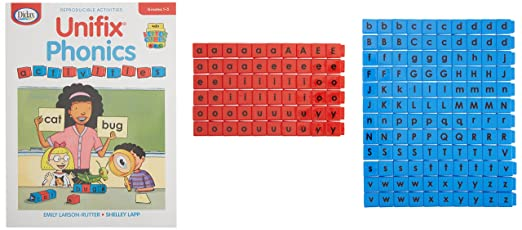 Amazon.com: Didax Educational Resources Unifix Letter Cubes-Small ...