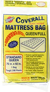 Warp Brothers CB-70 Banana Mattress Bag for Queen or Full, 70 92-Inch, Yellow
