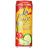 La Croix Curate Sparkling Water, Cerise Limon, 12 oz Can (Pack of 8)