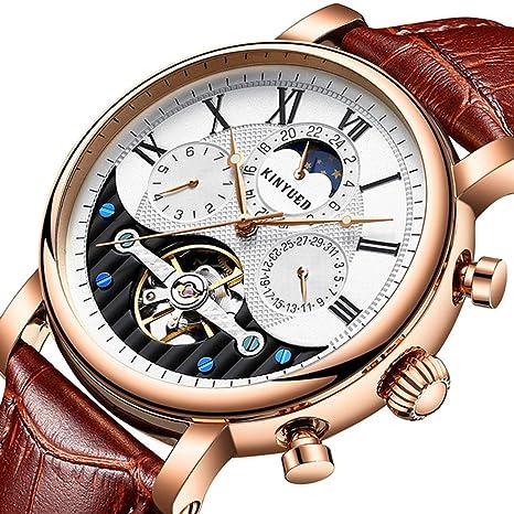YUNDING Reloj, Movimiento De Negocios, Movimiento Mecánico Completamente Automático, Artesanía Suiza De Alta