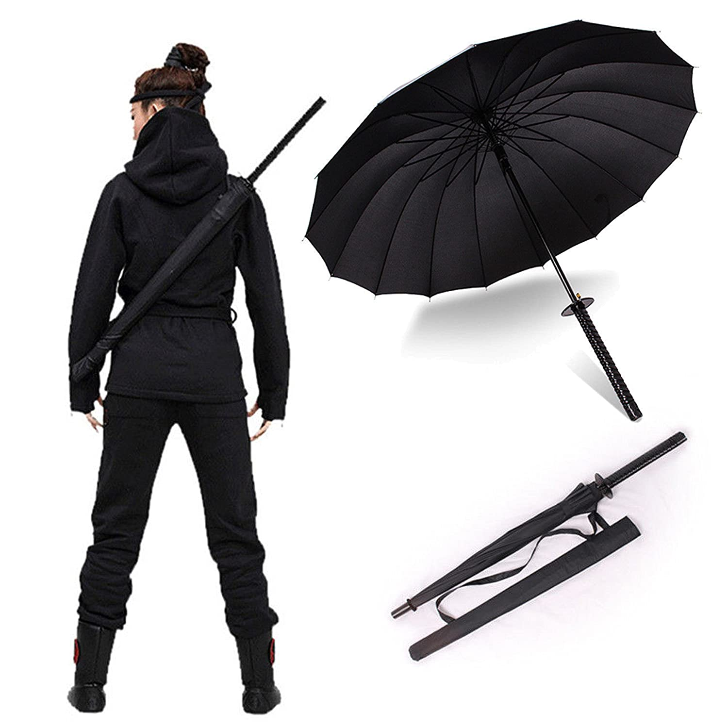 Samurai Umbrella Ninja Sword