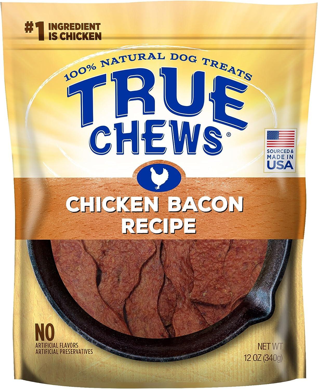 True Chews Premium Chicken Bacon Recipe Natural Dog Treats