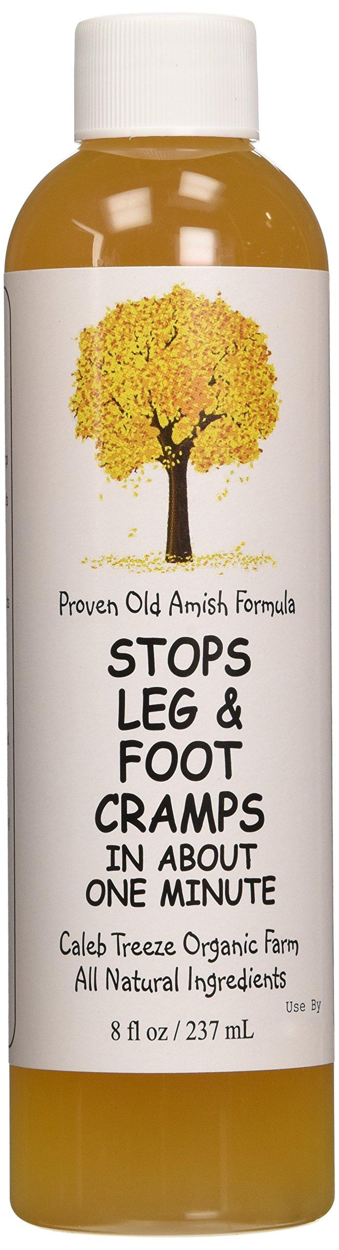 Caleb Treeze Organic Farms Stops Leg & Foot Cramps by Caleb Treeze
