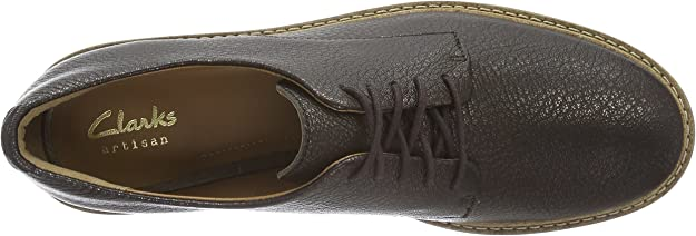 Glick Darby Femmes Clarks à lacets en cuir derby Robe Casual Plat Chaussures