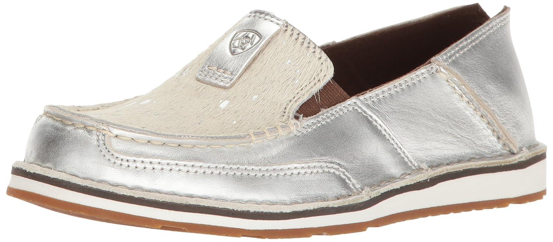 Ariat Women's Cruiser Slip-on Shoe B01N9X75WM 8.5 B(M) US|Silver Stream