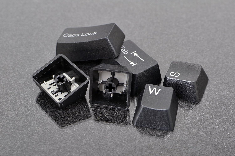 Doubleshot PBT 104-Key Cherry MX Keycap Set – Black Slate