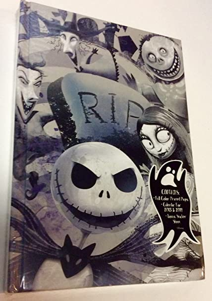 Nightmare Before Christmas 2020 And 2019 Journal Amazon.: Tim Burtons Nightmare Before Christmas 2018 and 2019