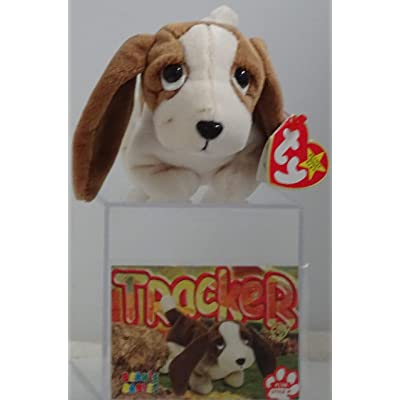 BEANIE BABIES Ty, Tracker The Basset Hound Dog: Toys & Games