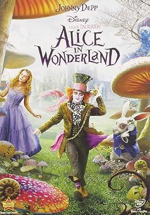 Alice In Wonderland Johnny Depp Mia Wasikowska Anne Hathaway Helena Bonham Carter Tim Burton Movies Tv