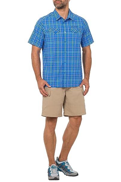 Vaude Jotun Men's Shirt II, Men, Hemd Men's Jotun Shirt II, Hydro Blue:  Amazon.co.uk: Sports & Outdoors