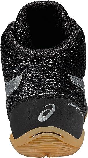 Asics boxeo y lucha libre zapatos Matflex 5, negro/plata, 43.5 EU: Amazon.es: Deportes y aire libre