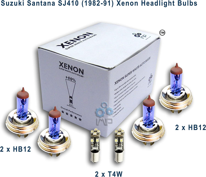 Suzuki Santana SJ410 (1982-91) Xenon Headlight Bulbs HB12 ...