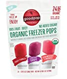 Goodpop Organic Freezer Pops Variety 24 Count- 1.79 oz pops