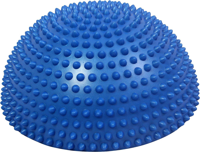 Balance Board Ideale per Esercizi di propriocettivit/à PDF Workout Superficie Antiscivolo POWRX Cuscino per Equilibrio /»PVC Free/« Riabilitazione e Ginnastica posturale