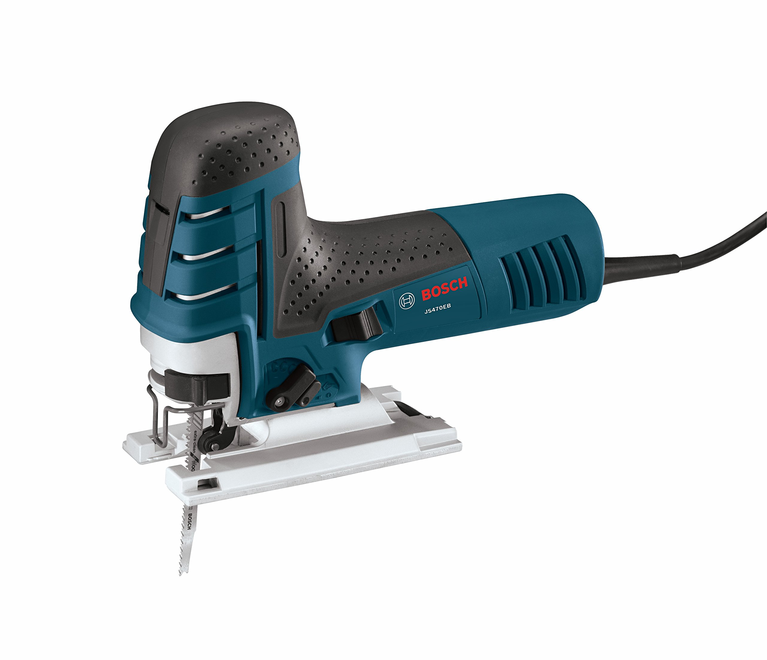 Bosch JS470EB 7 Amp Corded Variable Speed Barrel-Grip Jig Saw with Carrying Case by Bosch