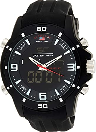 U.S. Polo Assn. Sport US9490 - Reloj para Hombres: Amazon.es: Relojes
