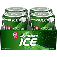 Dentyne 4-Pack of 60-Piece Ice Spearmint Sugar Free Gum