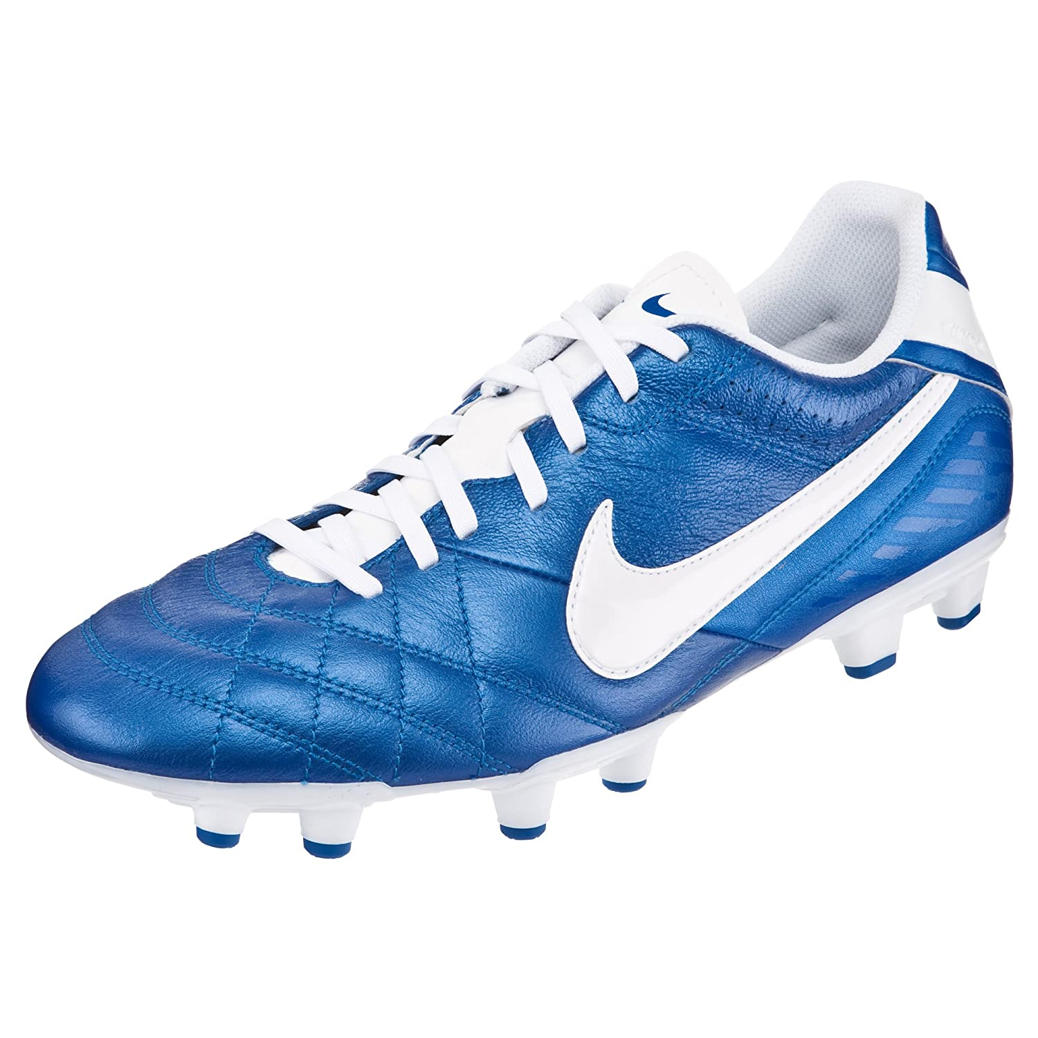 Inconveniencia Abuso Ejercicio  Nike Tiempo Natural IV LTR FG Shoes 509085-419-Size-11 UK: Buy Online at  Low Prices in India - Amazon.in