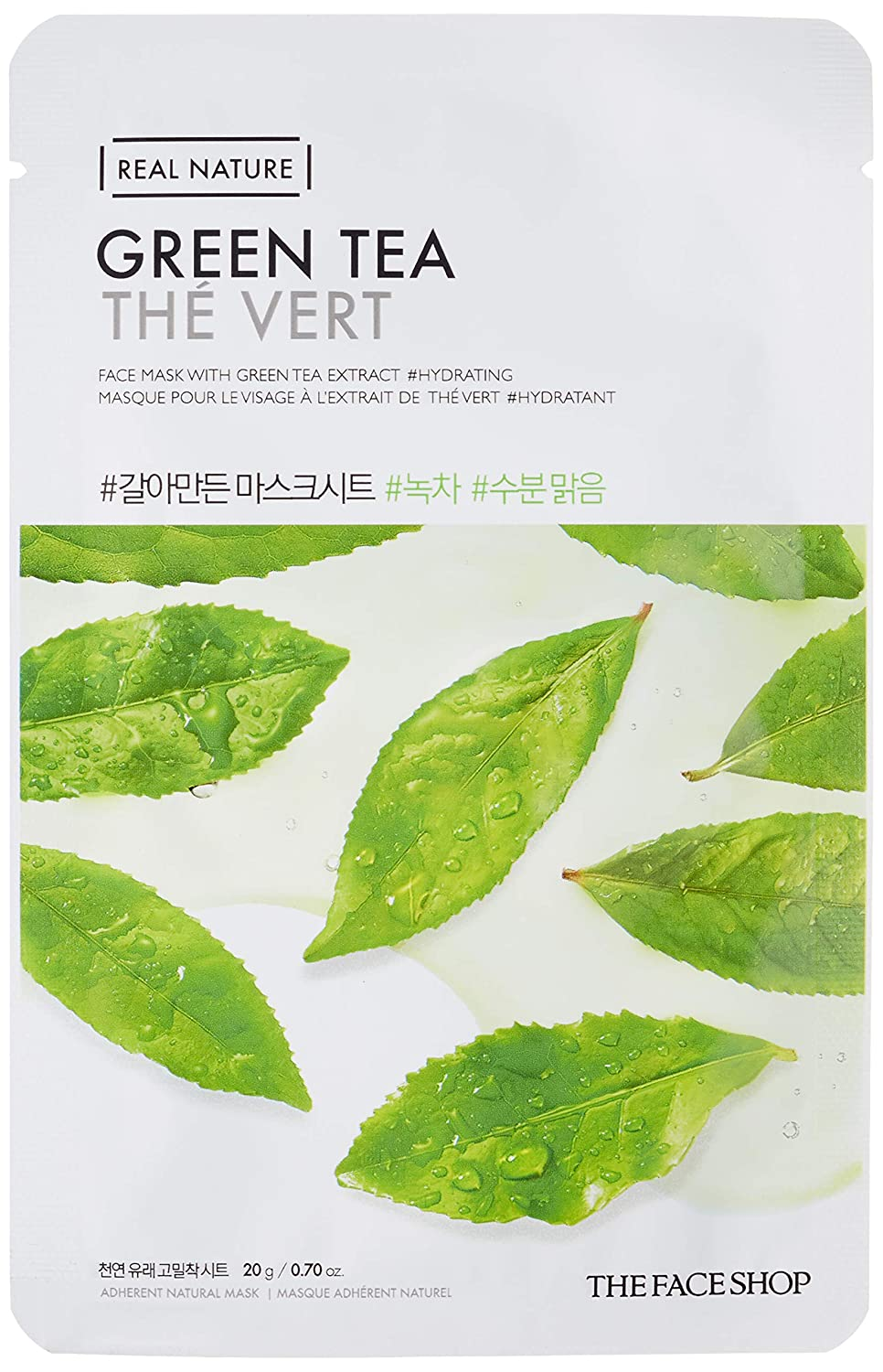 THE FACE SHOP Real Nature Mask Sheet Green Tea