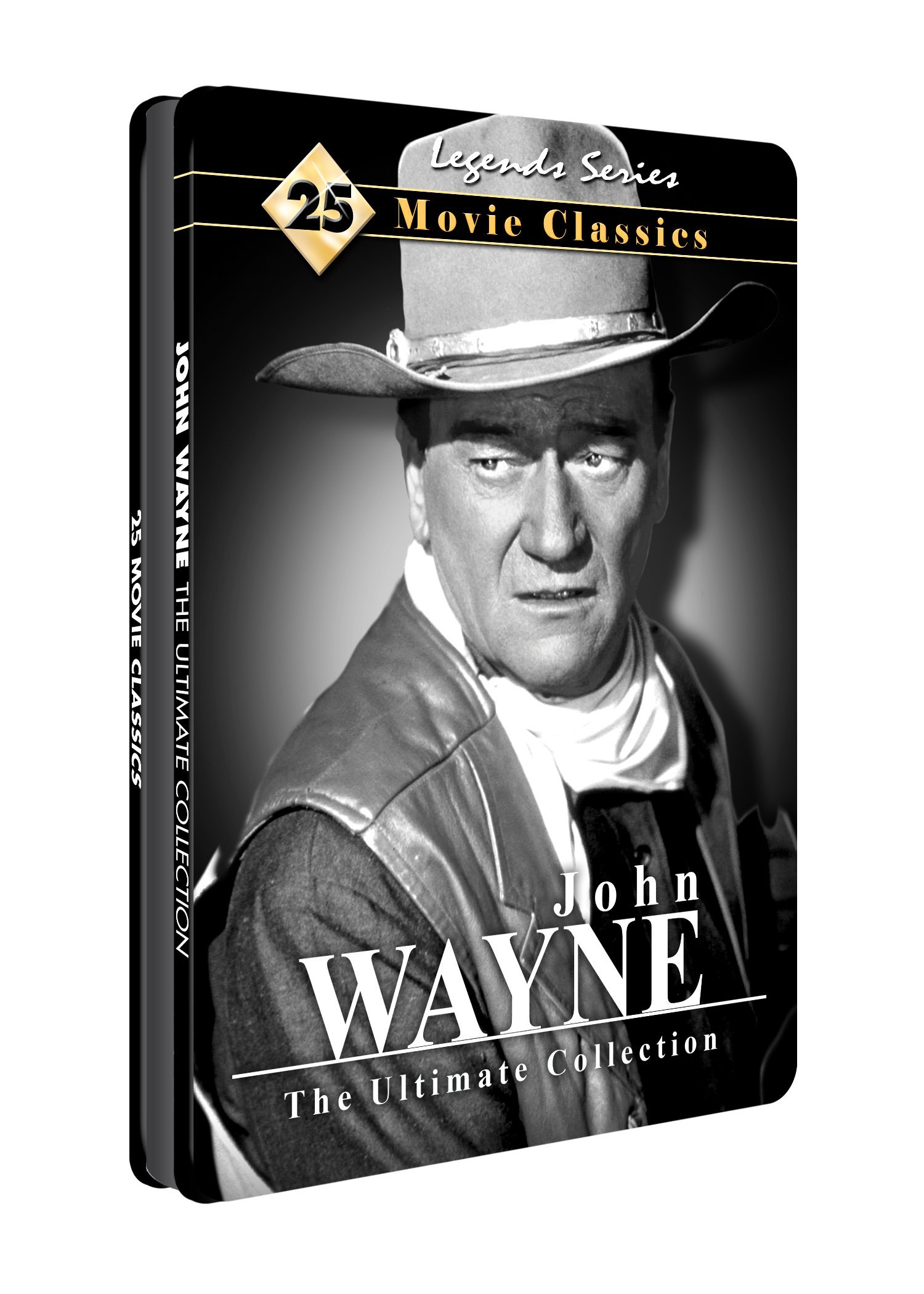 John Wayne: Ultimate Collection 25 Movies - Collectible Tin by Mill Creek Entertainment