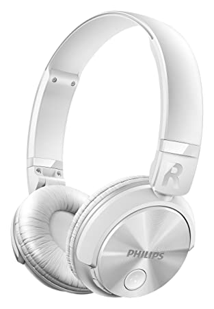 Philips Shb3080wt Casque Audio Bluetooth Sans Fil Avec Micro