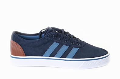 save off a2648 2d8e0 Adidas Adi-Ease Navy Brown 2 Q33223 Trainers for Men, Blue, 11 UK