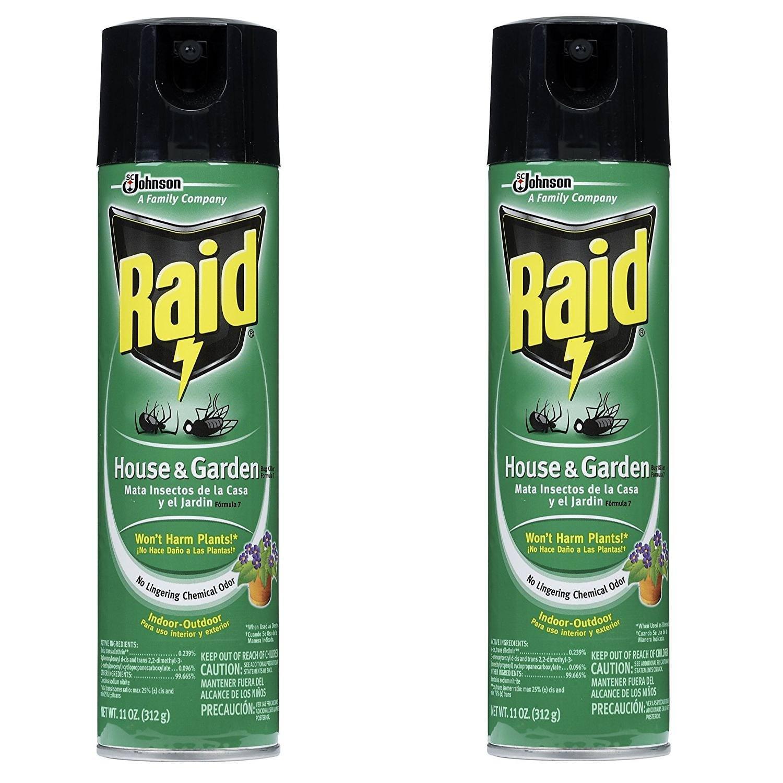 Raid 01672 House & Garden Bug Killer, 2 Count