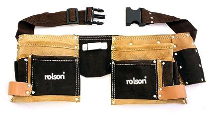Rolson 68628 - Cartuchera para herramientas  Amazon.es  Bricolaje y ... fef0127a720c