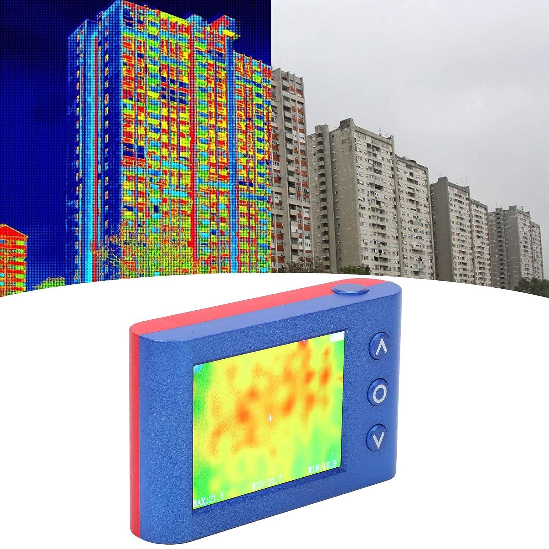 IR Thermal Imaging Temperature Meter Rechargeable Thermal Imager -40℃~300℃ Temperature Range Handheld Portable Infrared Thermal Imaging Camera with 3.4 Color Display Screen