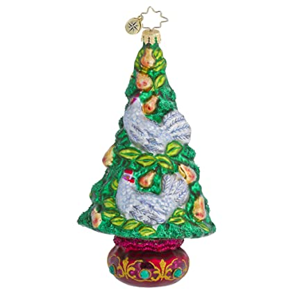 Christopher Radko The Hen Pen Christmas Tree Ornament - Amazon.com: Christopher Radko The Hen Pen Christmas Tree Ornament
