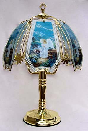 Angel Touch Lamp 4 With Polished Brass Base