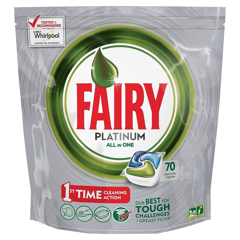 Fairy Platinum Original Dishwasher Tablets   70 Tablets: Amazon.co.uk:  Health U0026 Personal Care