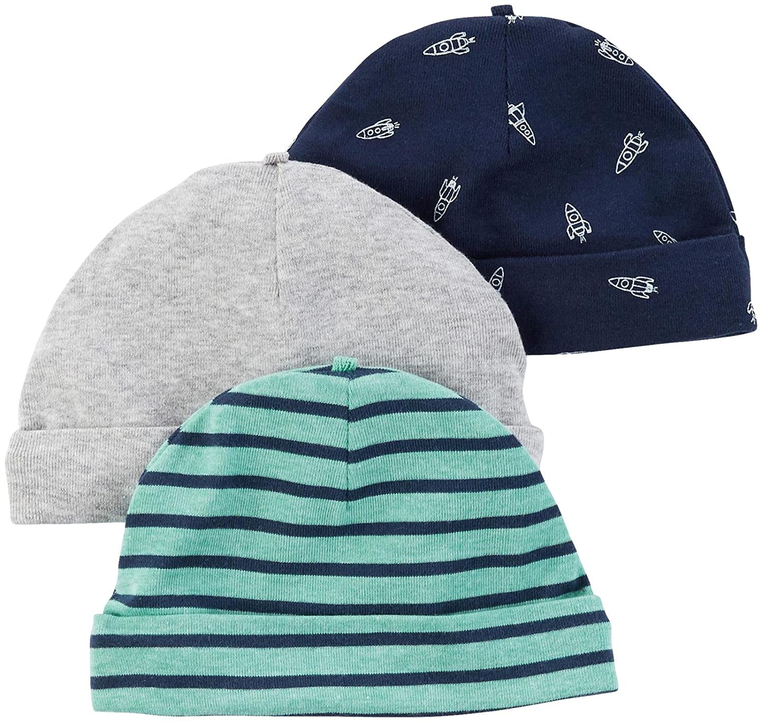 Carter's Baby Boys' Caps 126g543 Turquoise 0-3 Months Baby Carters