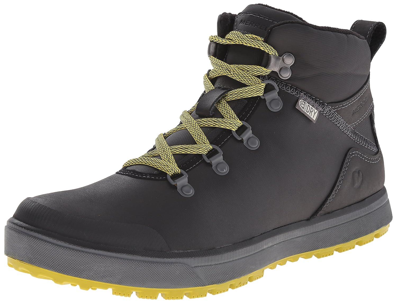 Merrell Turku Trek WTPF Herren Hohe Sneakers  40 EU Schwarz (Black)