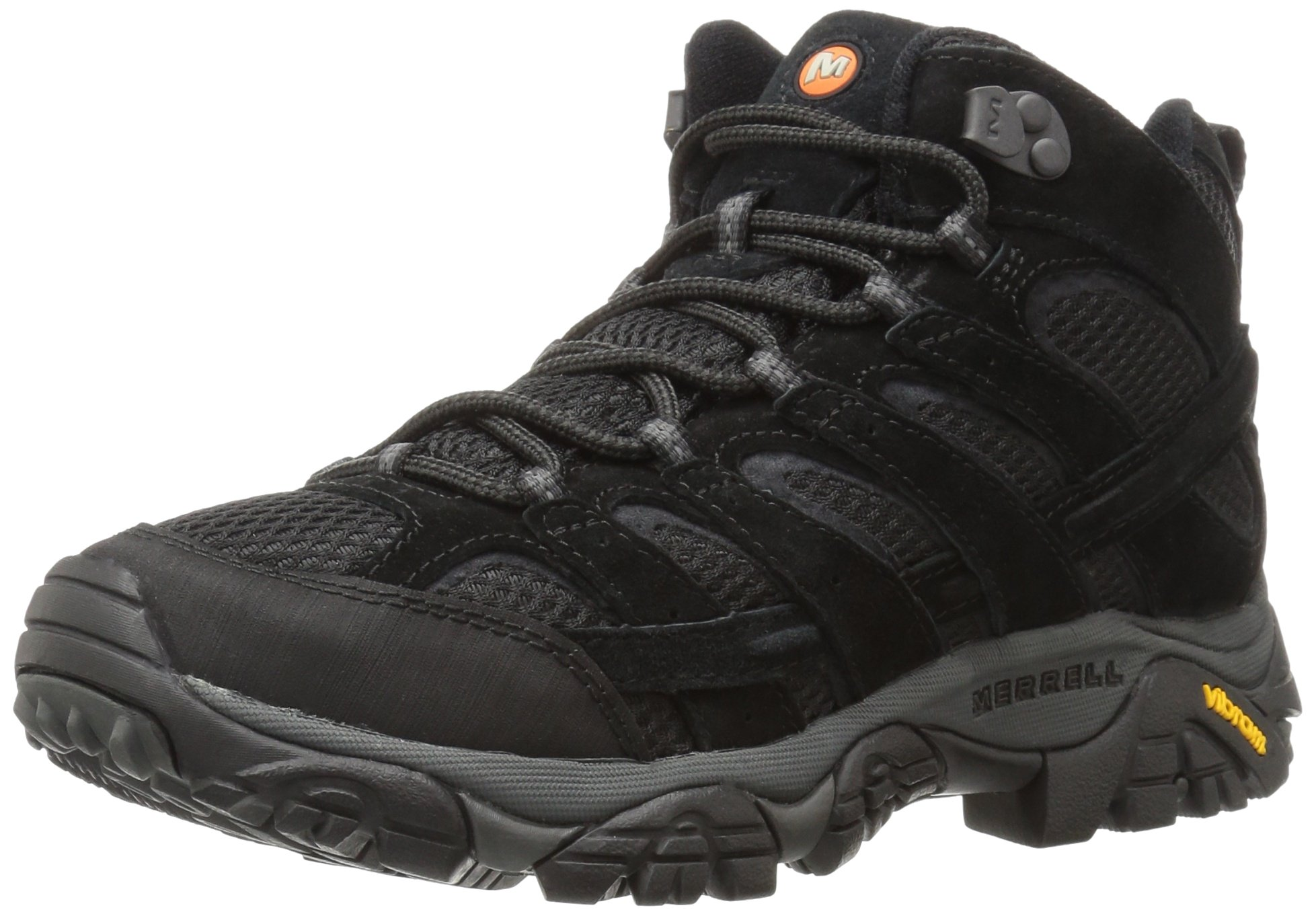 Merrell Men's Moab 2 Vent Mid Hiking Boot, Black Night, 10 M US by Merrell