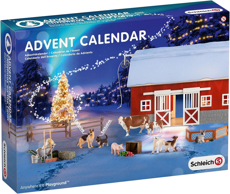 Schleich - Calendario de adviento (97022): Amazon.es: Juguetes y ...